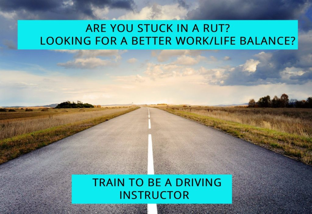Train to be a driving instructor